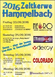 Hammelbach Kerwe 16-09-23 bis 26