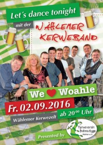 Wahlen, Kerwe - 16-09-02 Kerweband