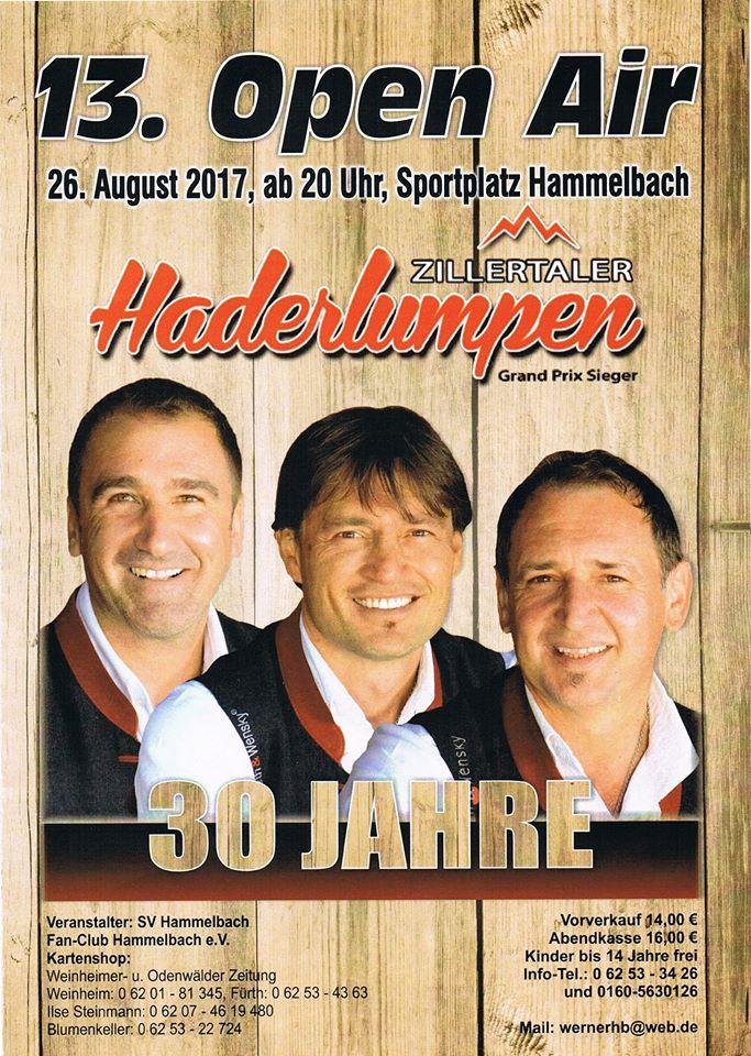 17-08-26 Haderlumpen Konzert Hammelbach