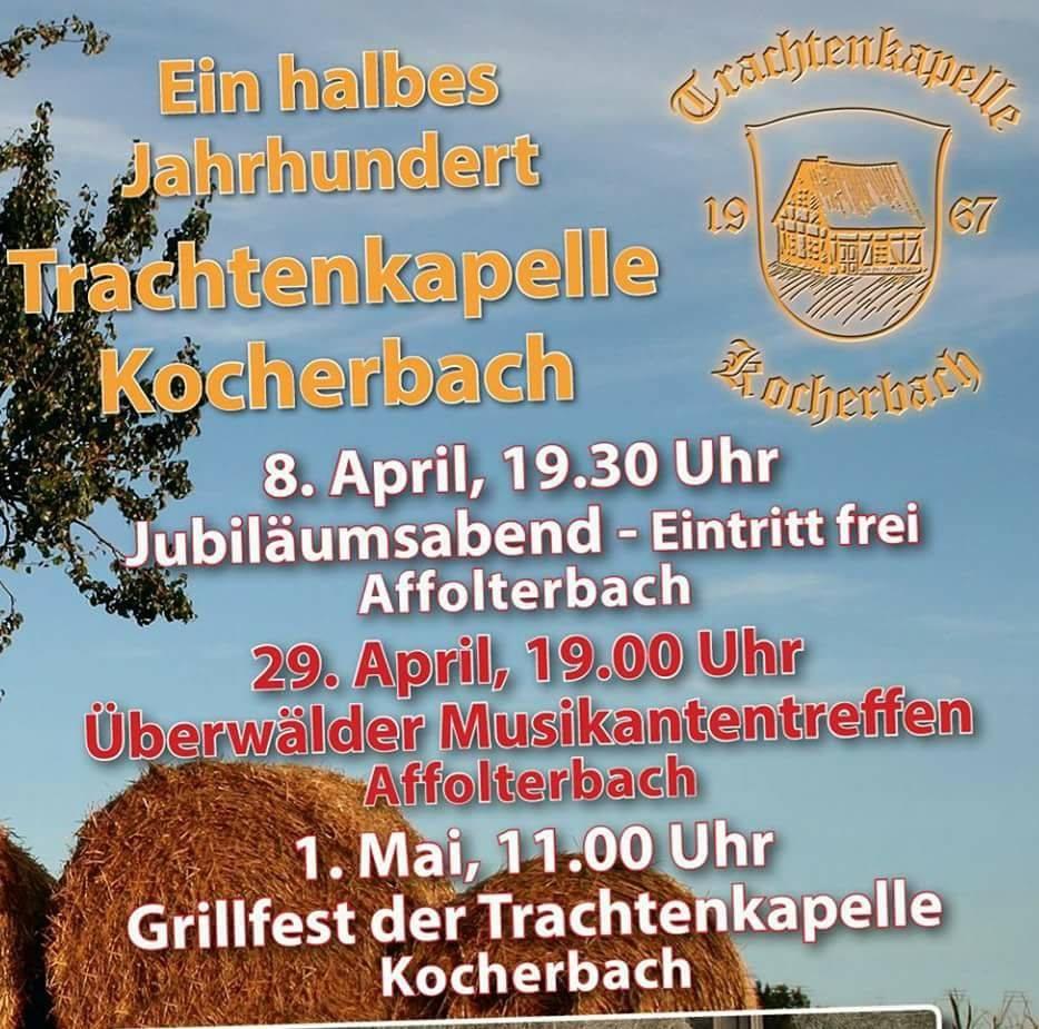 17-04 Trachtenkapelle Kocherbach Jubiläumsveranstaltungen